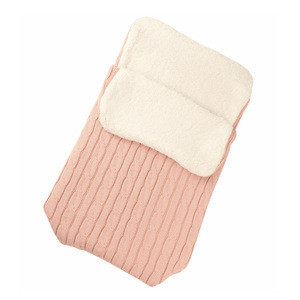 High Quality Newborn Cotton Baby Wrap Swaddle Knitted Toddler Baby Sleeping Bag