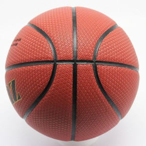 High quality triangle basketball/microfiber basketball/PU material wear-resisting