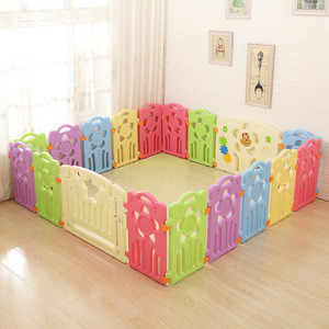 Indoor Play Yard For Kids Modern OEM Baby Fence Playpen Equipment Play Safety Fence Playpens