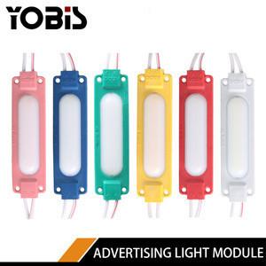 LED  Injection Module 5730 Module False COB Lens Module 6 Lights Advertising Light Source
