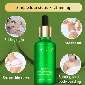 Natural anti-cellulite Lose Weight Fat Burning Slimming organic body massage essential Oil