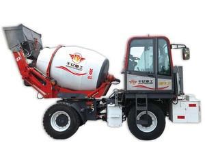 New condition self-loading concrete mixer truck for sale