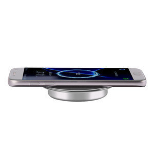 New products office furniture accessories diameter 60mm wireless charger for smartphone