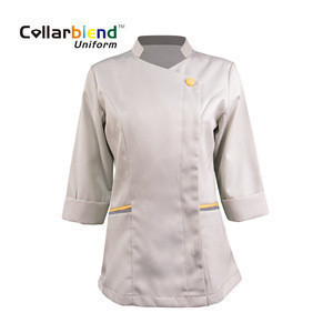New style custom made casual breathable hotel housekeeping uniform