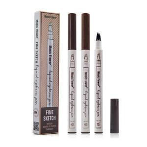OEM Fork Tip Liquid Eyebrow Tattoo Pencil Microengraving Waterproof Eyebrow Pencil