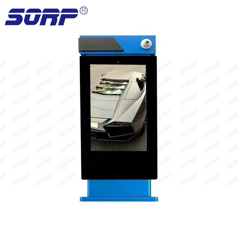 Outdoor Vertical Floor Stand LCD HD Touch Advertising Display Screen