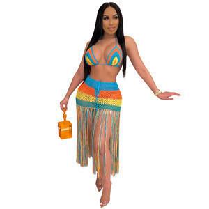 Sexy mature bikini beachwear cover up beachwear evening cocktail party dress