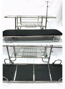 SJA-NC013F stainless steel Stretcher ambulance