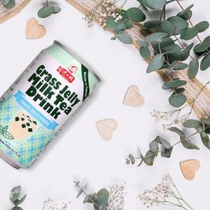 Taiwan 315ml Herbal Jelly Milk Tea