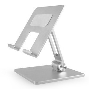 Universal Aluminum Foldable Adjustable Flexible Desk Tablet PC Holder Stand CNC Edge