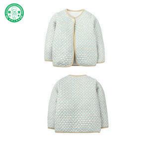 Wholesale Autumn Full Sleeve Knitted Bird Prining Baby Girl Sweater