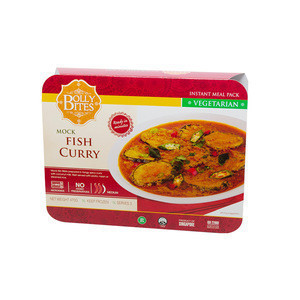 Wholesale Food Meat Dishes Mock Fish Curry