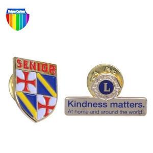 Wholesale promotional products decorative lapel pins custom enamel lapel pin badges