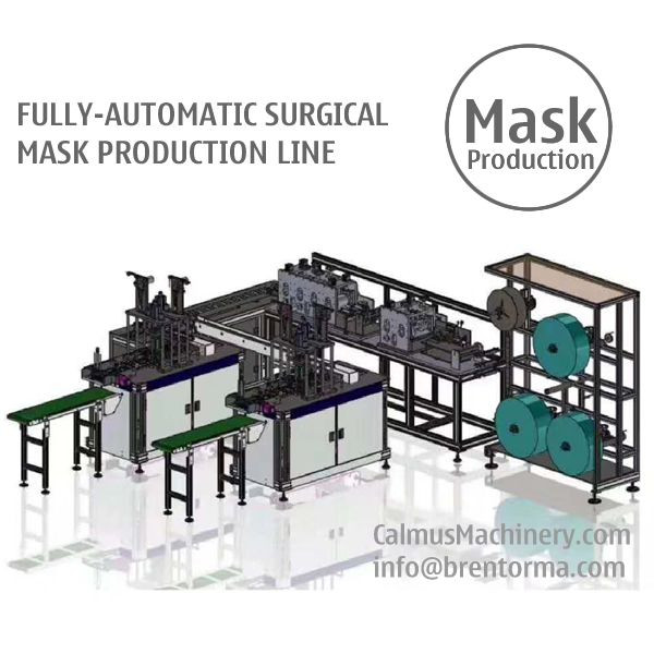 Fully-automatic Medical Surgical Face Mask Making Machine Production Line
