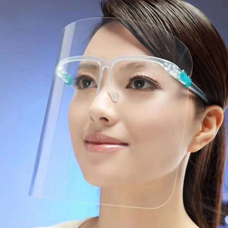fogproof dustproof anti droplet PVC transparent eco friendly mask
