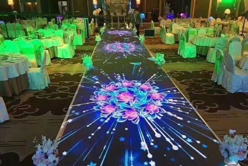 p3.91 Interactive LED Floors to play Interactive Games