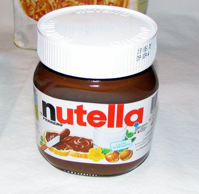Ferrero Nutella Chocolate 15g, 25g, 350, 400g, 600g, 750, 1kg, 3kg and 5kg