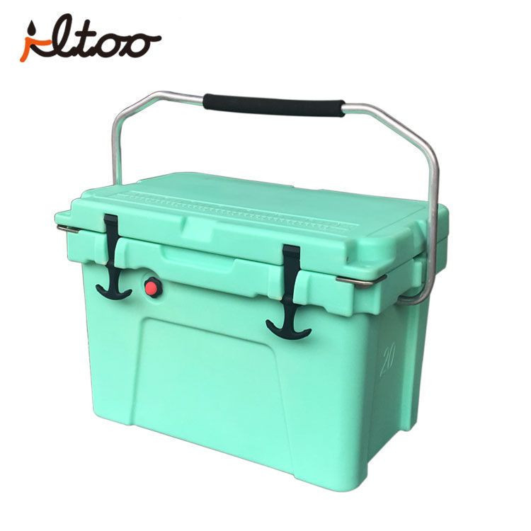 Roto molded Custom color rotomolded ice cooler plastic ice box coolers