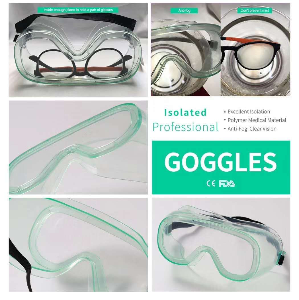 Medical Goggles Safety Goggles Anti virus and bacteria protective