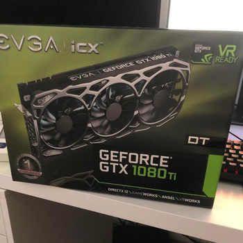 Evga GeForce GTX 1080 Ti FTW3 Game 11 GB GDDR5X ICx