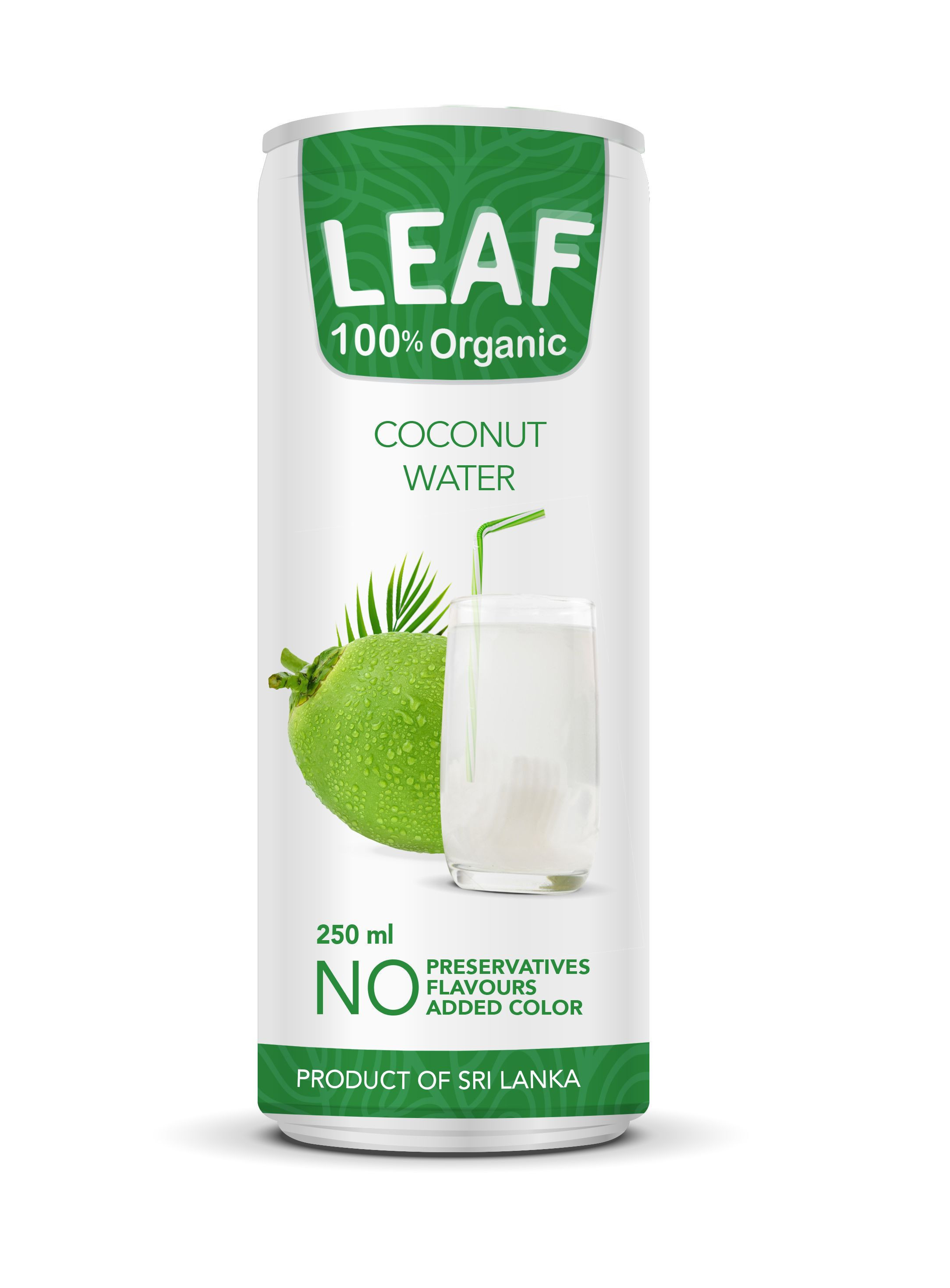 Leaf Organic Coconut Water