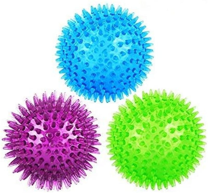 Squeaky ball dog toy TPR bouncing tooth cleaning