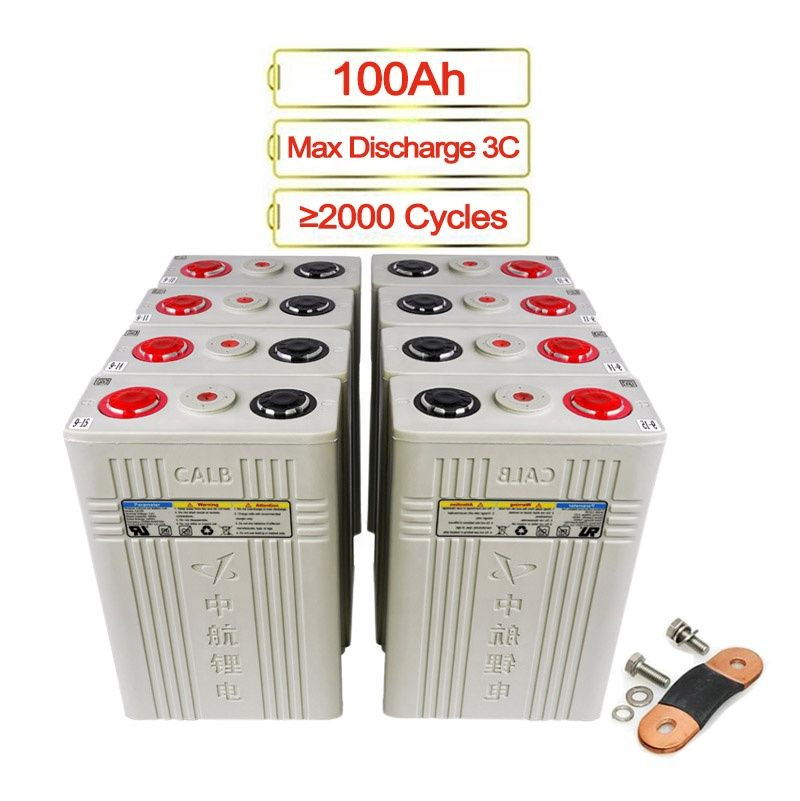 16pcs/pack CALB 100Ah Lifepo4 Battery Cell RV Golf Cart Cells