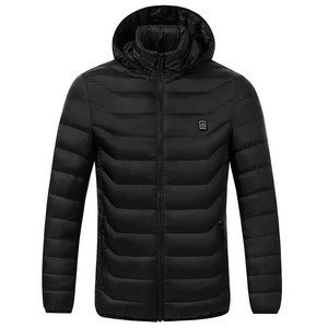2019 New Stylish Wen and Women Rechargeable Battery Heated Jacket