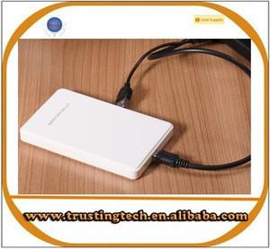 2.5inch USB2.0 hard drive hard disk case SATA support 2TB hdd enclosure