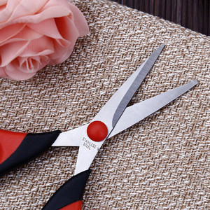 2CR13 stainless steel office supply hand tool school scissors with high quality