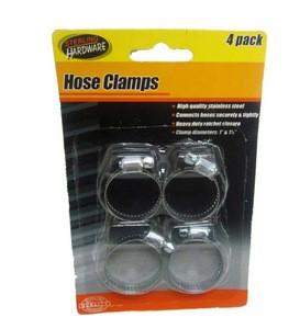 4Pcs Hose Clamp 1in 1 1-4in