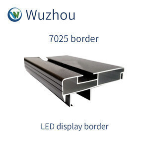 70x25mm led display frame LED frame car display LED profile frame