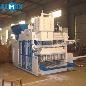 Aimix mobile full automatic brick making machine concrete block machinery