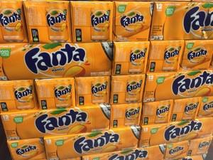 AMERICAN FANTA GRAPE SOFT DRINKS