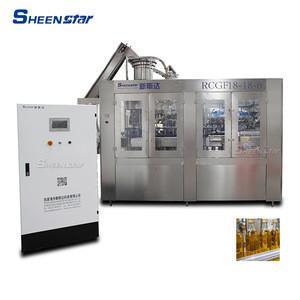 Automatic glass bottle aluminum capping machine