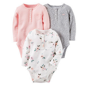 Baby clothes organic cotton winter romper newborn clothes
