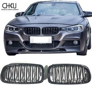 For 2012-2016 BMW F30 glossy black grill M3 glossy black front grille