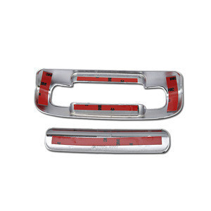 For Jeep Grand Cherokee 1999 2000 01 02 03 04 Rear Door Tailgate Handle Bezel Cover Chrome Plastic