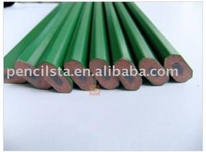 Green body carpenter pencil