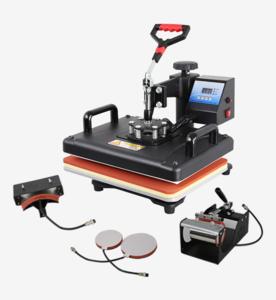 High pressure plain Heat Press Machine T-shirt Printing Machine 30*38 Economical Heat Transfer Machine For T-shirt