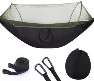 Holiday One Person Outdoor Garden Custom Camping Hiking Nylon Garden Portable Hammock Stand