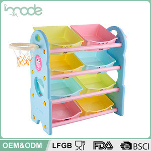 IMODE wholesale china style Eco-friendly kids toy shelves for home