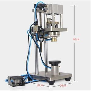 JYD machine Semi-Automatic Perfume Crimping Machine Perfume Bottle Capping Machine