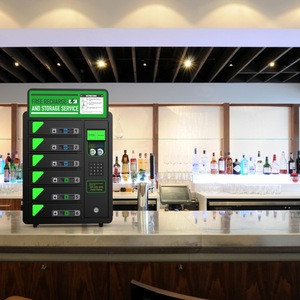 Kidigi mini cell phone charger station mobile phone charging locker charging kiosk