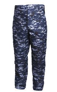 Military army dress training digital ocean ACU uniform