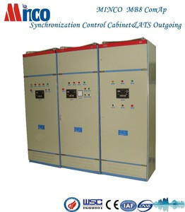 Minco MB8 diesel generator synchronizing panel