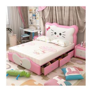 Modern Design Affordable Children Bedroom Furniture Girl Kid Bed CB14