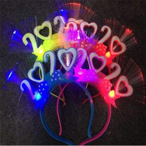 New luminous funny toys happy new year party supplies light up headband