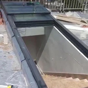 New style tubular glass skylight patio enclosures sliding roof with high quality for sunroom