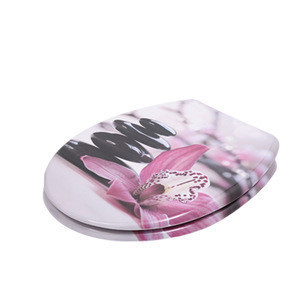Novelty UF material soft close toilet seat cover